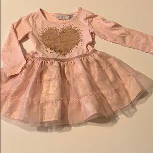 Pastel pink heart dress